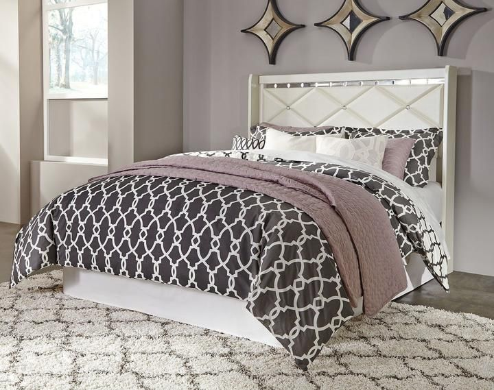 Dreamur Panel Headboard With Bolt On Metal Frame In 2020 Ashley Furniture Furniture At Home Furniture Store