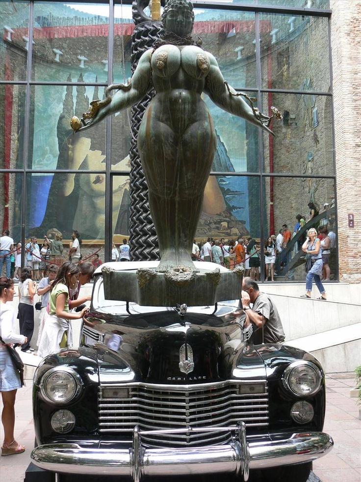 Dali Museum, If I remember correctly, it rains inside the car.