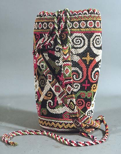 beadwork of Borneo - Google Search