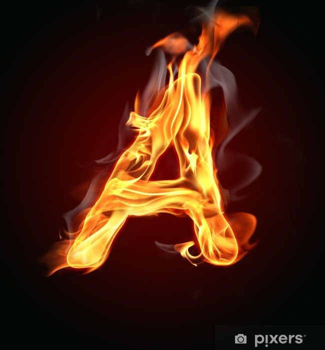 Fire Letter A Wall Mural Pixers We Live To Change Love Background Images Best Photo Background Photoshop Tutorial Photo Editing Free fire 3d name wallpaper