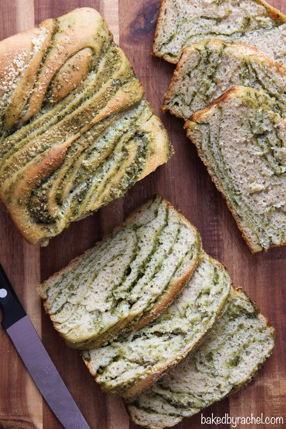 Geflochtene Pesto-Brot-Rezept aus bakedbyrachel.com