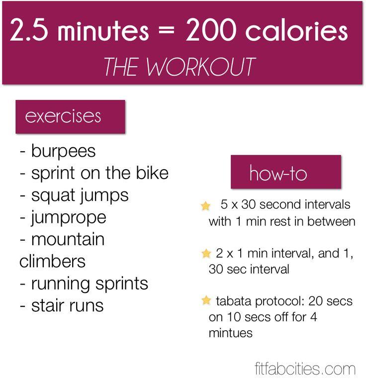 200 calories burn ♥✤ |