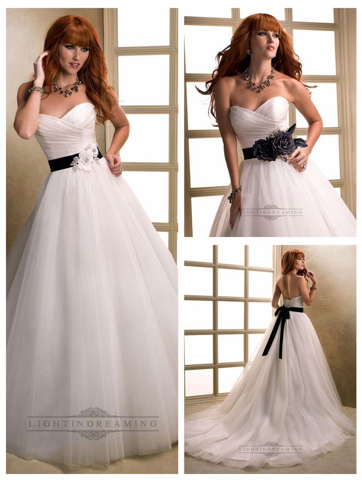 Asymmetrical Ruched Cross Sweetheart Ball Gown Wedding Dresses with   Flower Belt  #wedding #dresses #dress #lightindream #lightindreaming #wed #clothing   #gown #weddingdresses #dressesonline #dressonline #bride  http://www.ckdress.com/asymmetrical-ruched-cross-sweetheart-ball-gown-  wedding-dresses-with-flower-belt-p-162.html