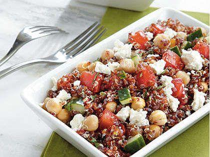 Red Quinoa Salad Recipe | MyRecipes