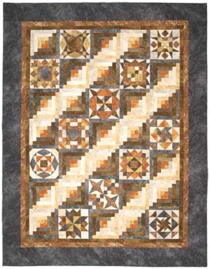 Log Cabin Meets Sampler Quilt Love The Look Of The Layout