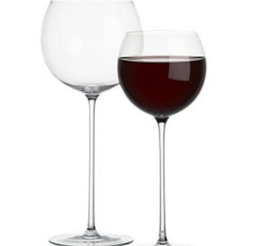 Camille Xtra Long stem wine glass - Crate & Barrel