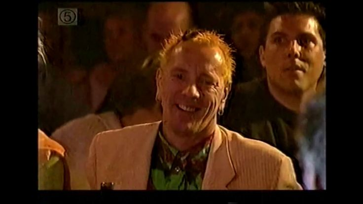 Johnny Vegas' funny response to John Lydon's heckle at the Q Awards 2001...