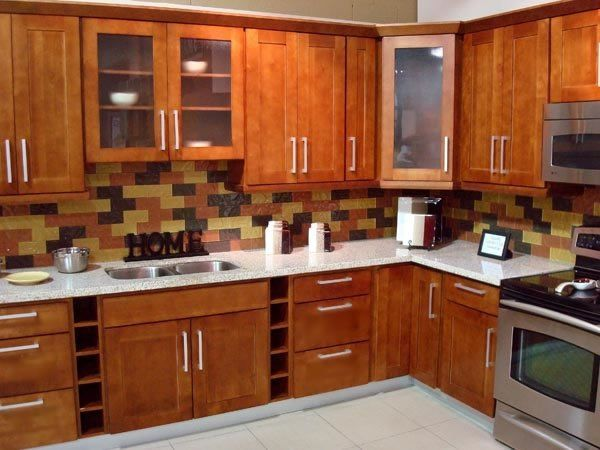 The Simple Wooden Furniture Favorable Shaker Kitchen Cabinets On Wall  Hanging Pine Wood Shaker Kitchen Cabinet