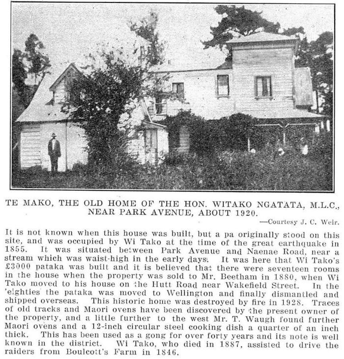Te Mako - Old homestead.