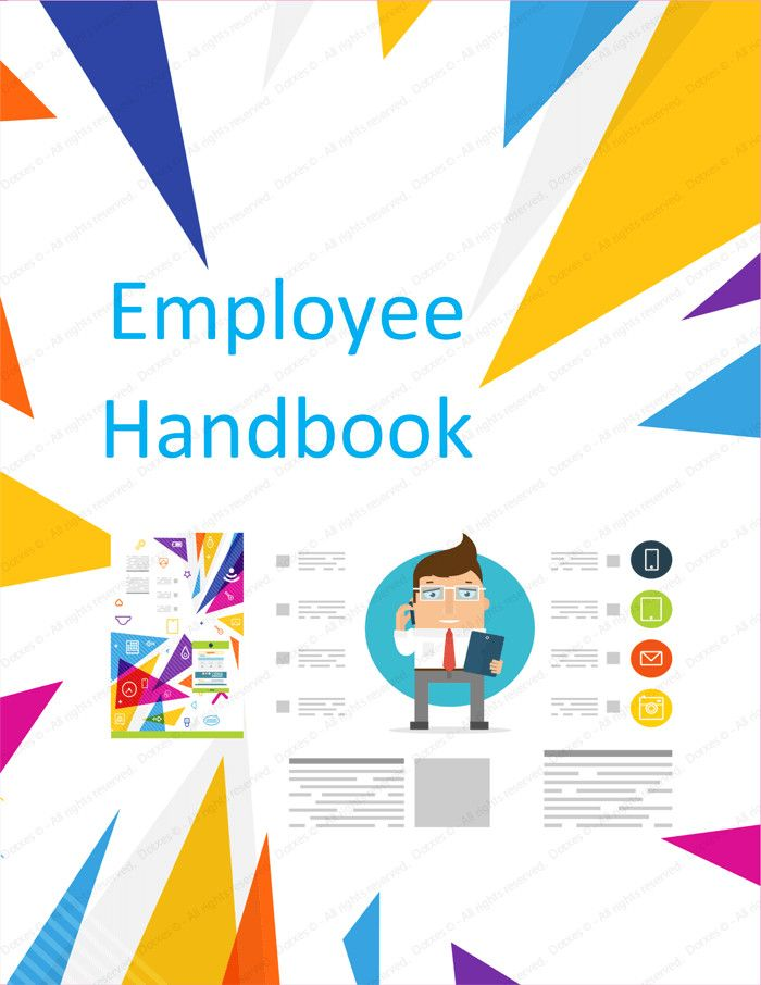 Free Employee Handbook Template Word from i.pinimg.com