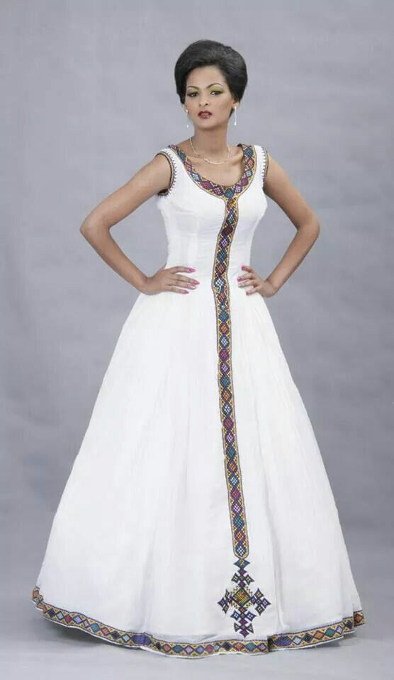 Beautiful Ethiopian Dress I love it