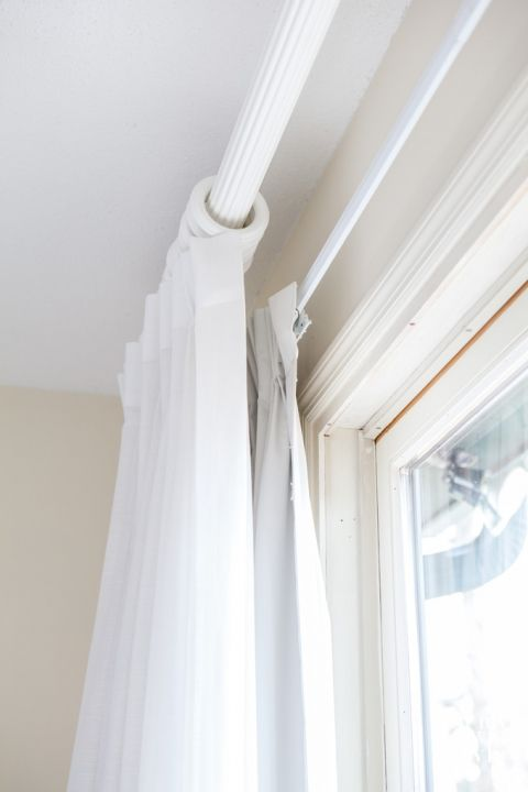How to hang room darkening drapes and curtains