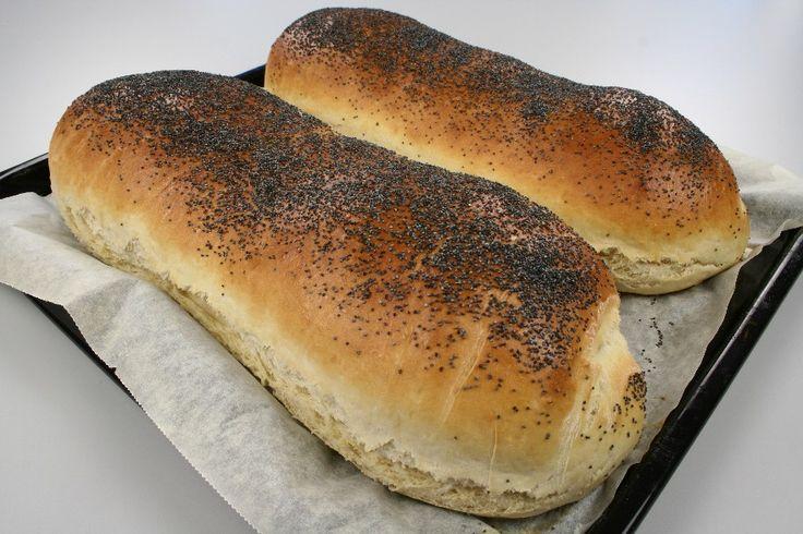 Farmors hjemmelavet franskbrød - En opskrift fra Alletiders Kogebog blandt over 38.000 forskellige opskrifter på