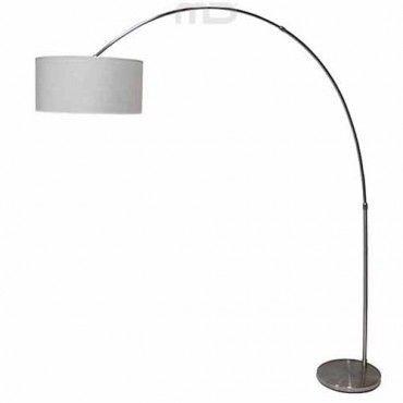 Brella Arc Floor Lamp - White - Milan Direct
