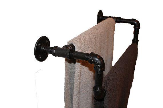 Vintage Double Towel Bar Oil Rubbed Bronze Plumbing