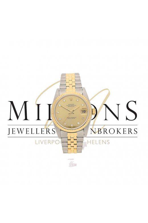 Second hand midsize Rolex Datejust 68273