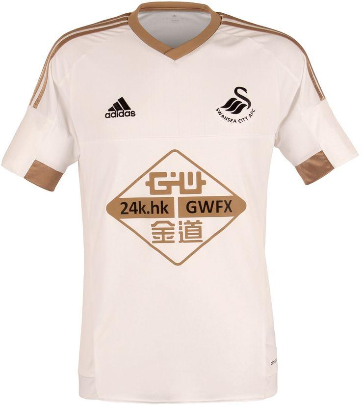 Swansea City 2015-16 adidas Home