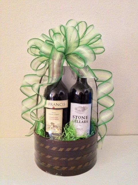 7 best st patricks day baskets images on pinterest gift basket the grass is greener on the irish side st patricks day gift basket negle Image collections