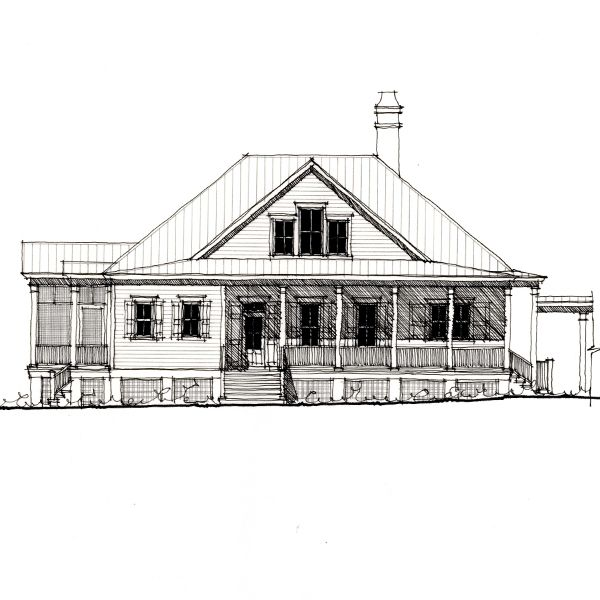 Allison ramsey architects floorplan for the pleasant for Laurel river house plan
