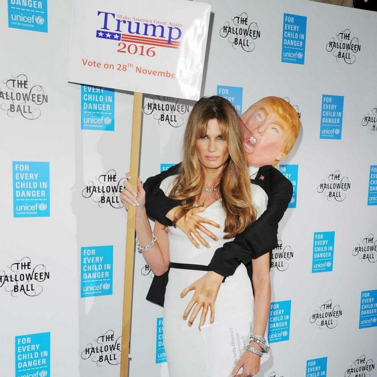 Jemima Goldsmith paid homage to embattled Republican leader Donald Trump on Tuesday evening, but it certainly wasn't the tribute he might have hoped for.