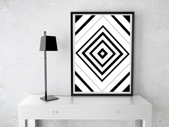 Printable Wall Art Prints Instant Download by PasitheaDesign