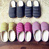 #7: Para mujer hombre De Invierno Rayas Algodón Pantufla Parte Inferior Suave Zapato --          http://ift.tt/2wecedi          #zapato #zapatos #zapatosdemoda
