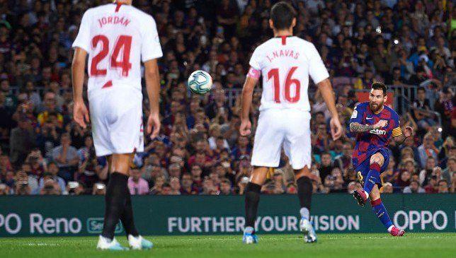 أهداف مباراة برشلونة ضد إشبيلية ملخص ونتيجة المباراة Https Arabic Sport360 Com