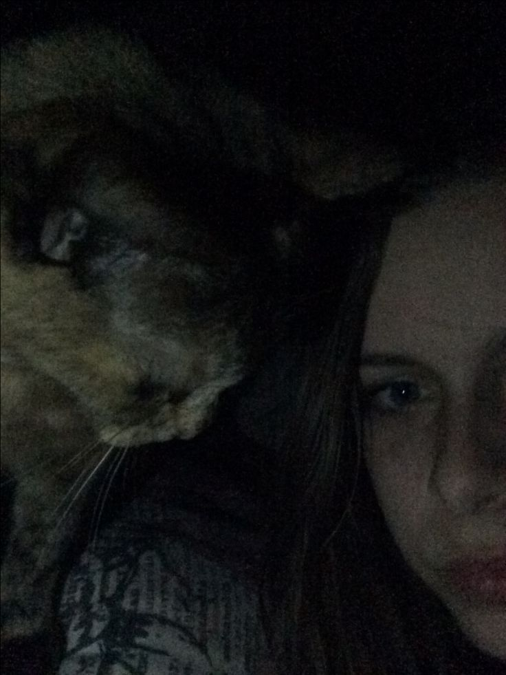 Cat won't leave me alone and she sounds like a helicopter