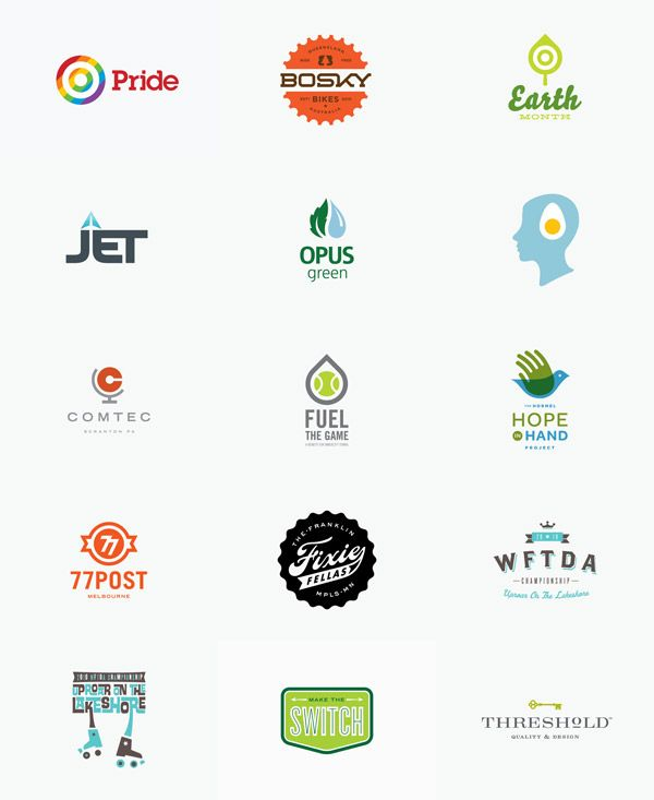 Logos created by Allan Peters
