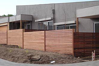 Merbau Fence
