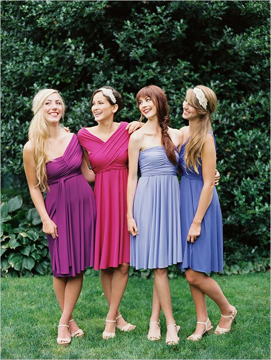 torção roxo vestidos de noiva envoltório
