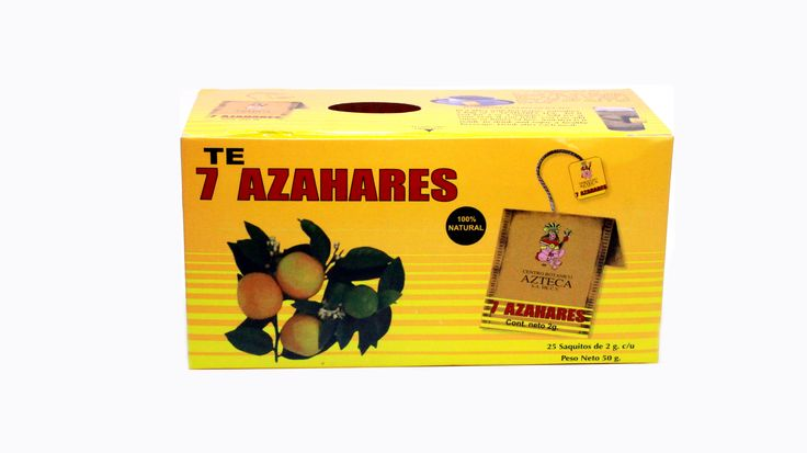 7 Azahares Tea  effective in treating anxiety, problems sleeping and even in poor digestion of somatic type.