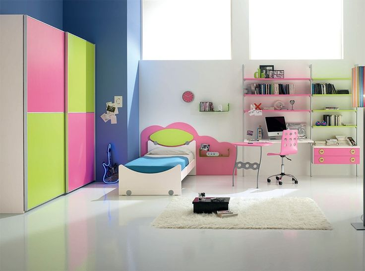 26 best Camerette images on Pinterest Modern kids bedroom Kids