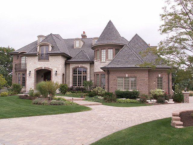 129 best dream homes french country images on pinterest for French country home exterior designs