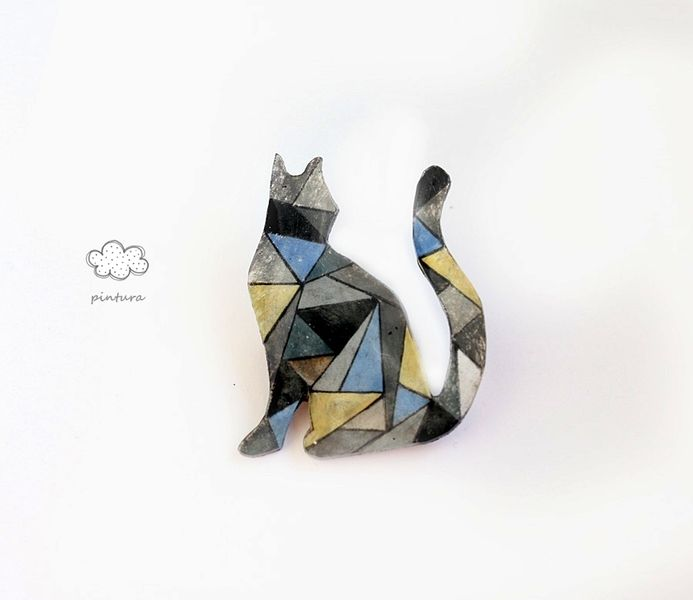 cat from Pintura  by DaWanda.com