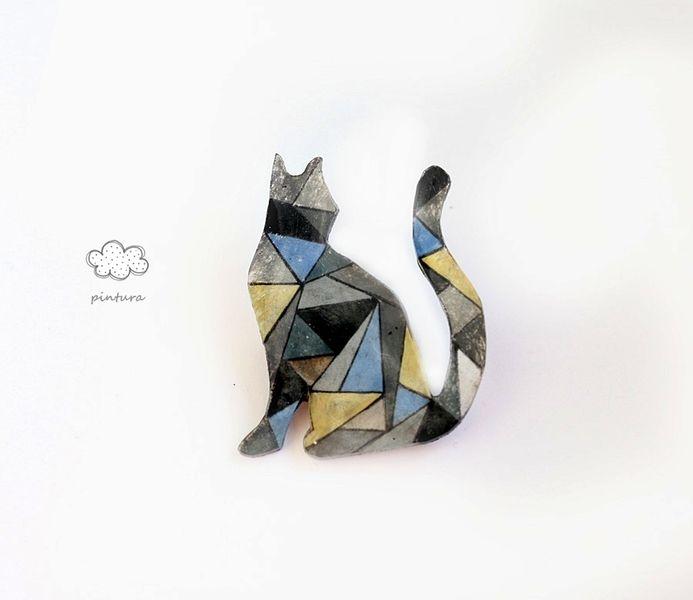 cat from Pintura  by DaWanda.com