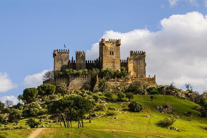 Castillo de Almodóvar del Río, Córdoba, Andalucía