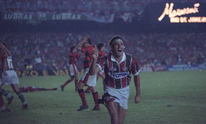 Há 20 anos, Fluminense era campeão estadual com gol de barriga de Renato Gaúcho - Jornal O Globo