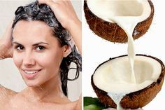 Cabelos cacheados e ressecados? Veja como é fácil preparar esta receita de shampoo caseiro de leite de coco para cabelo cacheado ou crespo!