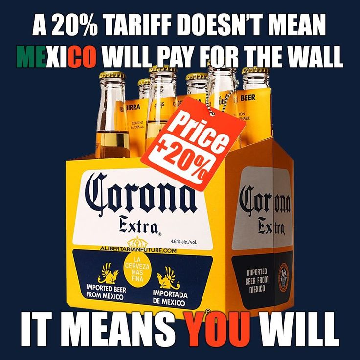 Trump's Voodoo Economics. Our prices will go up 20% and WE'LL pay for the nonsensical wall.