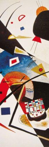 Vassily Kandinsky - Deux Taches Noires, 1923