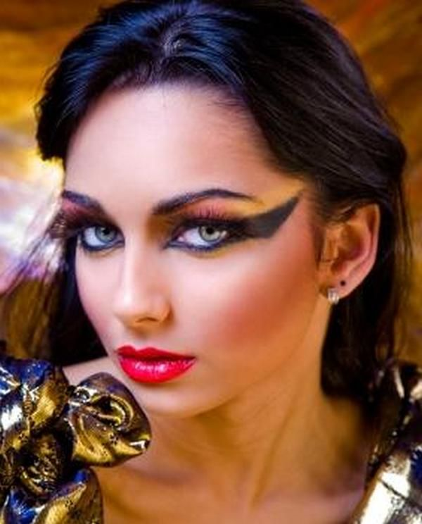 the gallery for gt egyptian hairstyles and makeup