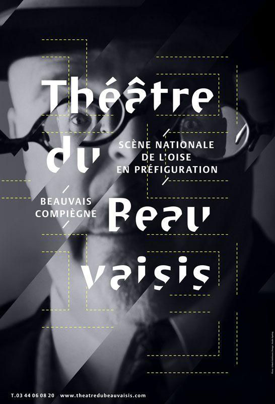 Philippe Apeloig - Théâtre du Beauvaisis Saison 2012/13.