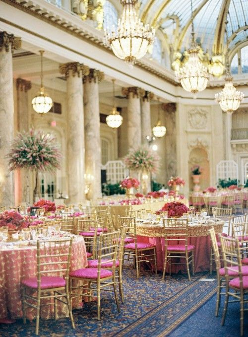 San Francisco's most luxurious historic venues, the Palace Hotel