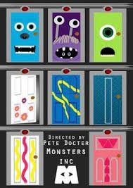 Resultado de imagem para monsters inc door illust