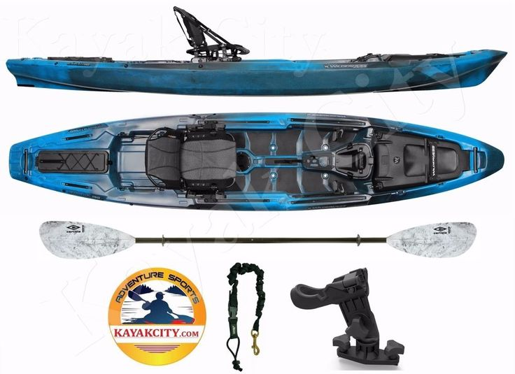 Wilderness systems atak 140 kayak city paddle package for Wilderness systems fishing kayaks
