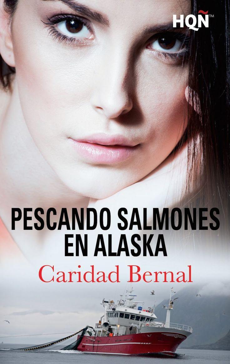 Pescando salmones en Alaska, de Caridad Bernal