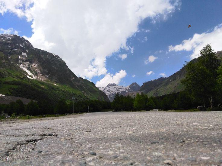 Caucaz - munţii şi a lor răcoare