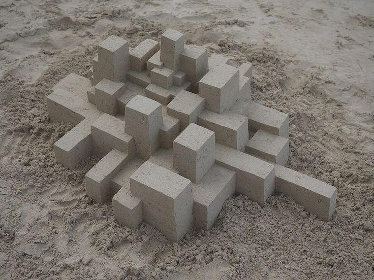 Calvin Seibert's Geometric Sandcastles