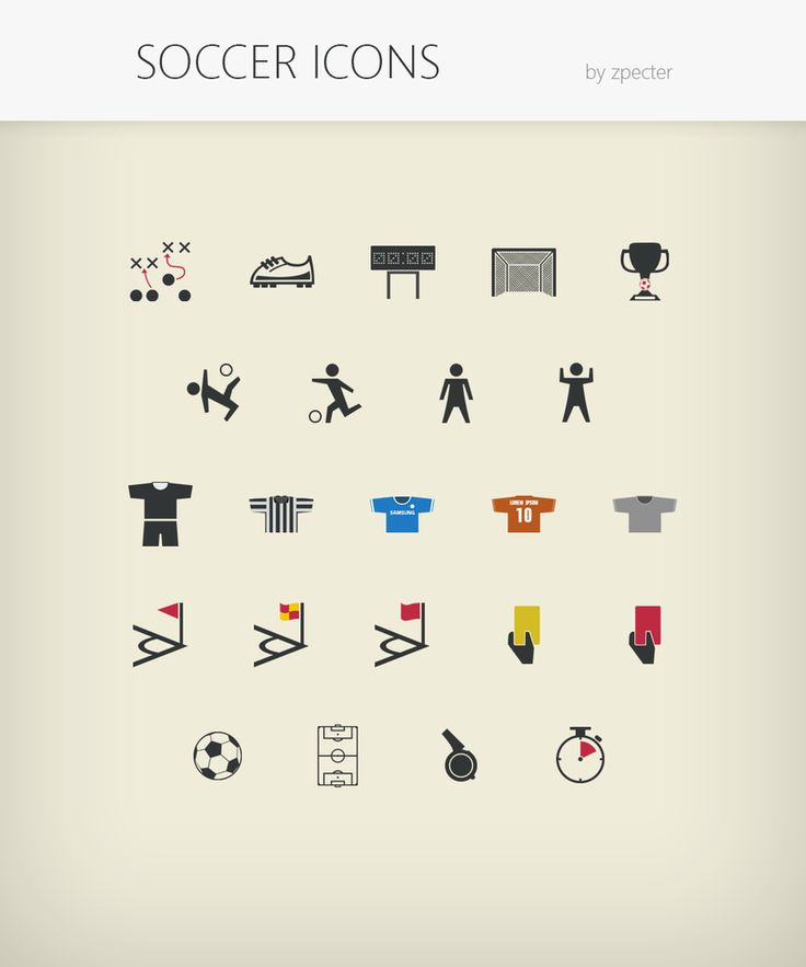 Soccer-icons 128 by ~zpecter on deviantART